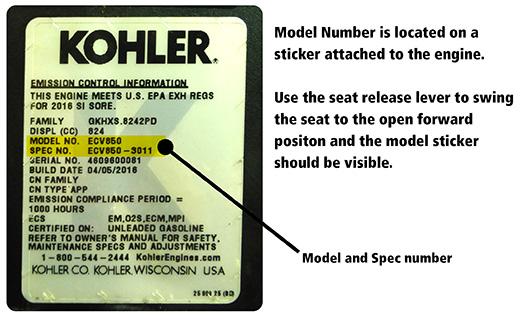 Kohler Engine Parts Snapper Parts Distributors