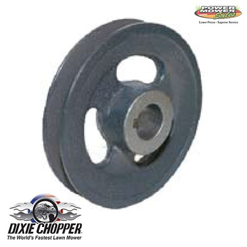 9907525X100S Dixie Chopper Cast Pulley 5.25