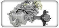 Transaxle transmissions for Dixie Chopper Lawn Mowers