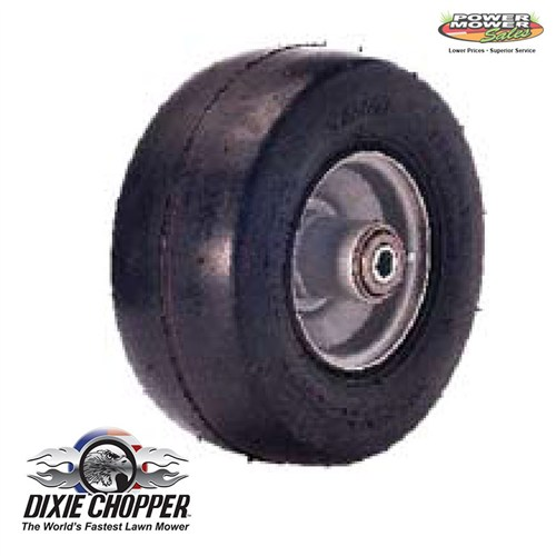 400137 Dixie Chopper Run-Flat Solid Wheel 9x3.5x4