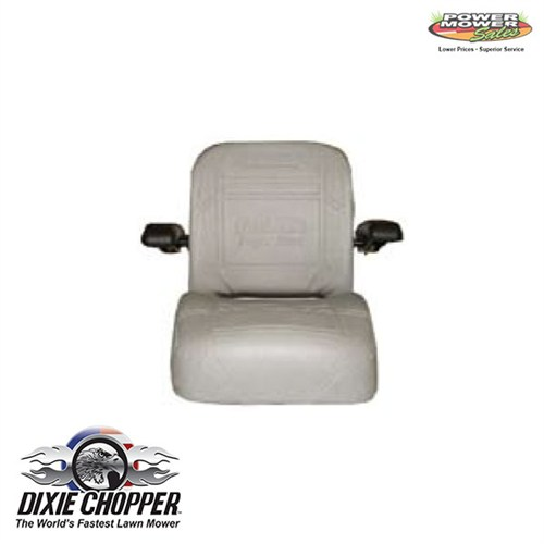 401962 Dixie Chopper Gray Gee Ride Seat