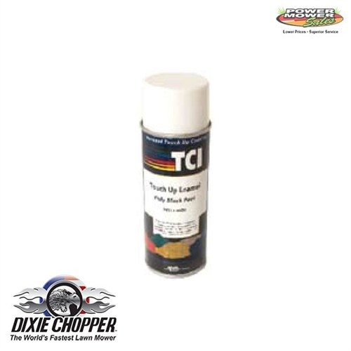 900311 Dixie Chopper Poly Black Textured Paint