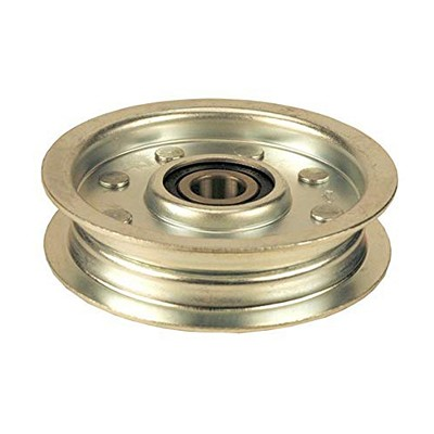 200238 Dixie Chopper Flat Idler Pulley w/o Center Hub 3.75""
