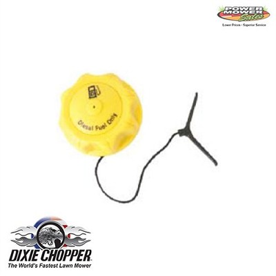 400337 Dixie Chopper Diesel Gas Cap 2.25""