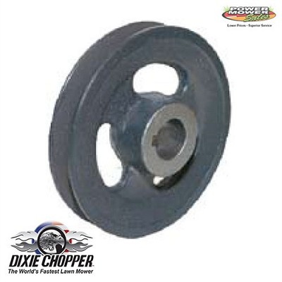 "97176 Dixie Chopper Cast Pulley 5.25""ODx1""Bore"