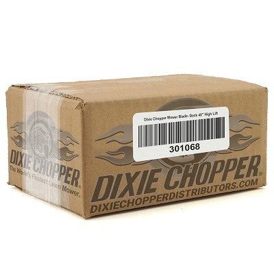 "Dixie Chopper Mower Blade- Deck 48"" High Lift"