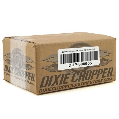 "Decal-Dixie Chopper LH Fender, 14"" DUP-800955"